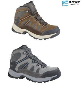 Hi Tec Walking Hiking Boots Trainers Trekking Mens Bandera Lite Leather Size
