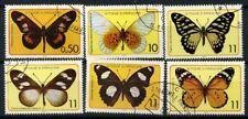 Saint Thomas et îles du Prince 1979 Mi. 561-566 Oblitéré 100% Papillons insectes