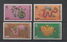 C1081 Hong Kong 555/58 postfris Jaar van de Slang