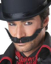 Jacker The Ripper Fake Moustaches Mens Halloween Wigs