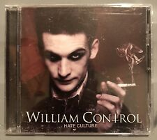 William Control - Hate Culture CD Album Industrial Electronic Rock *NEW*