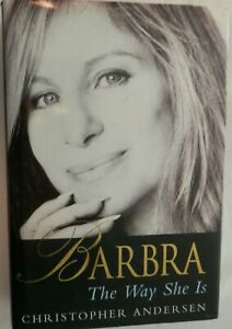 BARBRA The Way She Is by Christopher Anderson Hardcover VGC
