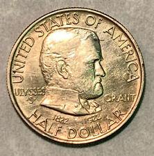 1922 Grant Classic Commemorative Silver Half Dollar Coin *