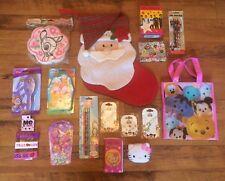 Pré rempli de jeune fille Noël Stocking ~ JOUETS ~ Disney Tsum Tsum ~ 16 objets