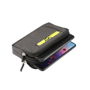 for LG X147 L Series III L60 Dual (2014) Multipurpose Horizontal Belt Case Jeans