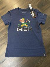 Under Armour Notre Dame Unisex Adult T Shirt  Size L NWT