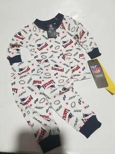 New England Patriots pajamas set size 6 months NWT