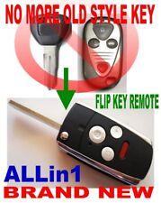 FOLDING FLIP KEY REMOTE FOR 2004-06 ACURA TL CHIP ALARM TRANSPONDER CLICKER FOB