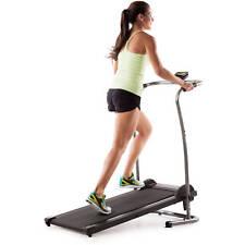 Weslo CardioStride 4.0 Manual Treadmill Calorie Burner LCD Gym Fitness Folding
