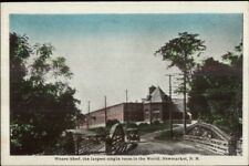 Newmarket NH Weave Shed c1915 Postcard