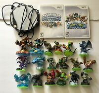 Lot Of 18 Skylanders Spyro's Adventure SWAP Force Figures + 2 Wii Games & Portal