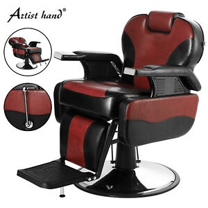 Pro Hydraulic Recline Barber Chair Heavy Duty Shampoo Spa Beauty Salon Equipment