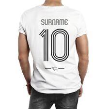 Derby County F.C- Personalizado Hombre Camiseta (Retro Camisa)