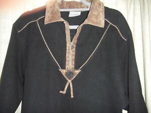Trachten Sweatshirt-Pullover MEICO,Reißverschluß und Edelweiß,hellbraun