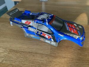 Maverick Truggy Painted Body Blue Shell With Decals (Ion XT) MV28065 1:18