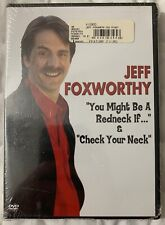 Jeff Foxworthy You Might Be A Redneck & Check Your Neck 1991 DVD New Sealed