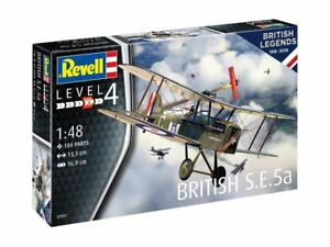 Britannique Légendes : S.E.5a , Revell Avion Modèle de Kit Montage 03907