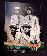 THE BEATLES 1996 Sports Time DUAL Sided LOVE ME DO CANT BUY ME LOVE Insert #2 SP