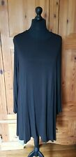 Eileen fisher dress size 2x black/dark brown marl