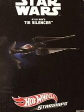 Star Wars Kylo Ren's Tie Silencer Hot Wheels Starships SDCC Comic Con