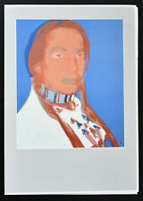 Kunsthalle Recklinghausen # ANDY WARHOL, Cowboys and Indians # 1992, invitation
