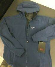 ARCTERYX Men's Gamma MX Softshell Hoody Size XL - Hecate Blue NWT MSRP-$350