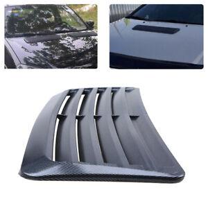 Car Decoration Air Intake Vent Cover Hood Sticker Carbon Fiber Look