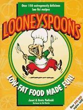Looneyspoons : Low-Fat Food Made Fun! Greta & Janet Podleski 1997 Paperback NEW