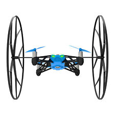 Parrot Rolling Spider Drone Azul Ultra compacto de 4 control de teléfono de motor Refurbishe