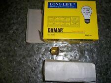 Vintage Damar 100w BRIGHT Light Bulb Screw Connector Clear A19 130v  NIB x4