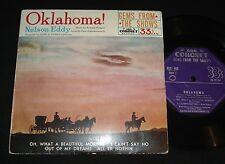 CORONET 1950s EP KGC-405 NELSON EDDY - OKLAHOMA