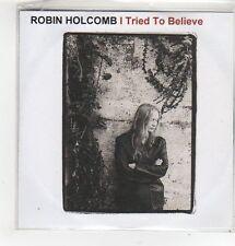 (FL331) Robin Holcomb, I Tried To Believe - 2002 DJ CD