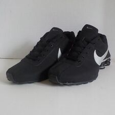 Nike SHOX NZ DELIVER 809 Running Shoes BLACK & SILVER Men Size 11