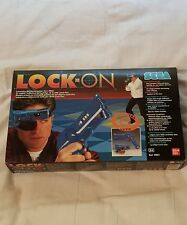 VINTAGE SEGA LOCK-ON NEW VHTF COMPLETE PAL SYSTEM RETRO