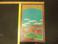 SHENANDOAH THEATRE POSTERS-LOT OF 2-ALVIN THEATRE & PAPER MILL PLAYHOUSE - P 248