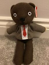 TY Mr Bean Teddy Jacket And  Tie ( Official Licensed Product 25cm)