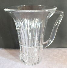 pichet cristal taillé Saar crystal pitcher Villeroy et Boch