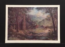 """Billie Nipper Signed Print """"Passing Times"""" Tennessee Artist"""