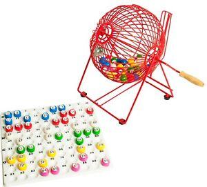 "9"" Bingo Cage Set"
