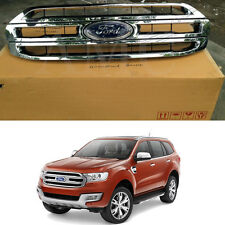 Genuine part Original Premium Front grille for 2015+ Ford Everest T6 SUV Chrome