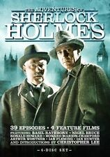 The Adventures of Sherlock Holmes: The Complete Series (DVD, 4-Disc Set)  NEW