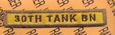 30TH TANK BN 18th Armored Division TAB