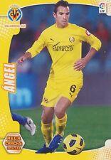 N°327 ANGEL DOMINGO LOPEZ # VILLARREAL.CF CARD PANINI MEGA CRACKS LIGA 2012