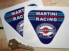 MARTINI RACING 100mm Paar Oltimer  Rennen Autoaufkleber International Club