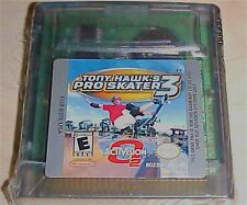 Tony Hawk's PRO SKATER 3 Skateboarding Nintendo Game Boy Color gbc advance gba