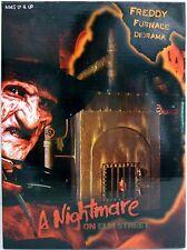 "FREDDY FURNACE DIORAMA A Nightmare on Elm Street Movie 7"" Scale LED Neca 2013"