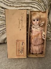 "Antique All Original With Box 5"" All Bisque Kestner? German Doll Glass Eyes"