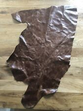 Leather Upholstery Large Piece Beautiful Leather Brown Leather Repair Crafts