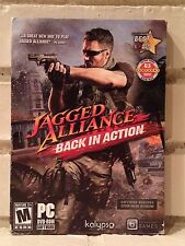 jagged alliance -- back in action -- fighting combat action computer game -- new