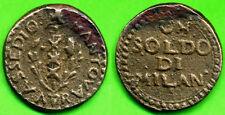 [DO] MANTOVA - Rep. Cisalpina (1799) 1 SOLDO 1799 (Bronzo / Bronze)